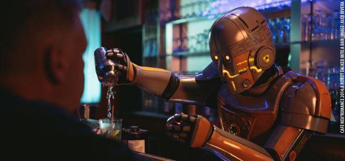 Cafe Neu Romance - CNR 2014: Movies: Alex Rivera (USA): A Robot